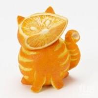 Танцевальный апельсиновый кот :)
